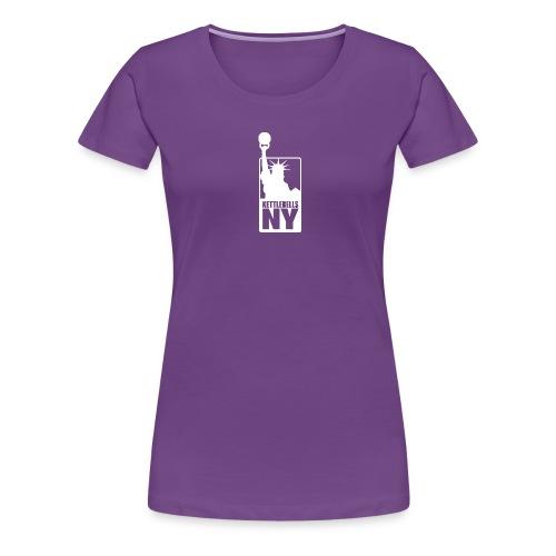 Kettlebells NY women's tee shirt - Women's Premium T-Shirt