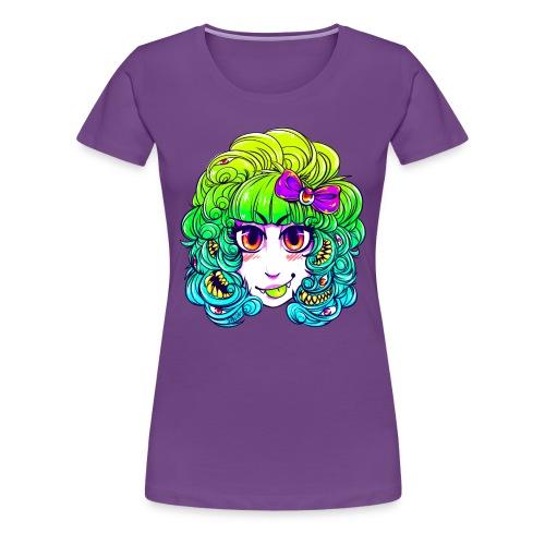 monstergirl shirt copy 2 png - Women's Premium T-Shirt