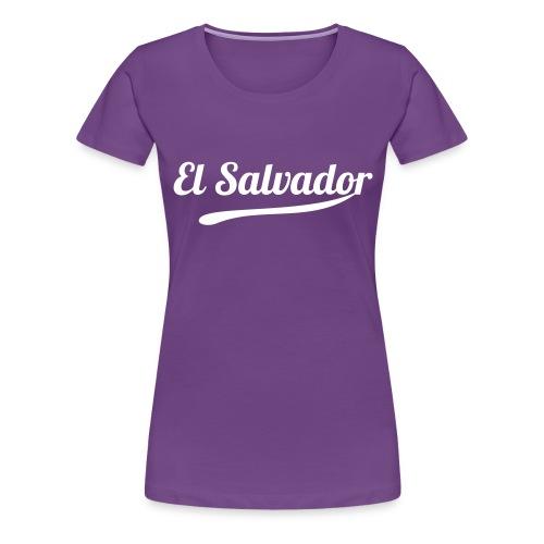 El Salvador - Women's Premium T-Shirt