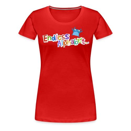 Endless Alphabet Gear - Women's Premium T-Shirt