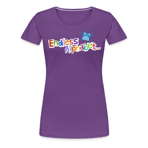 Endless Alphabet Gear - Women's Premium T-Shirt
