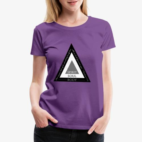 Spirit Soul Body - Women's Premium T-Shirt