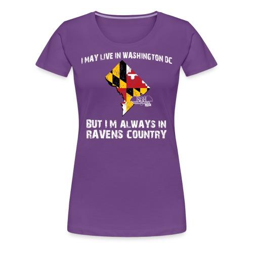 RavensCountryTee DC 08 png - Women's Premium T-Shirt