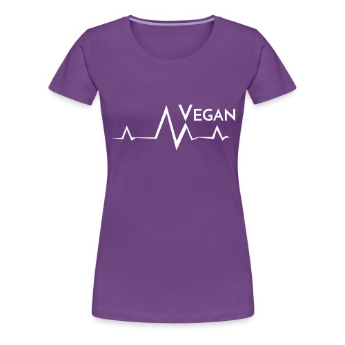 Vegan Frequenz - Women's Premium T-Shirt