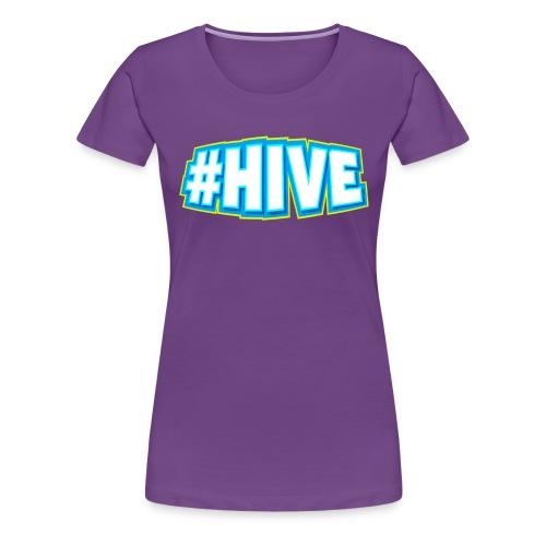 Hashtag Hive png - Women's Premium T-Shirt