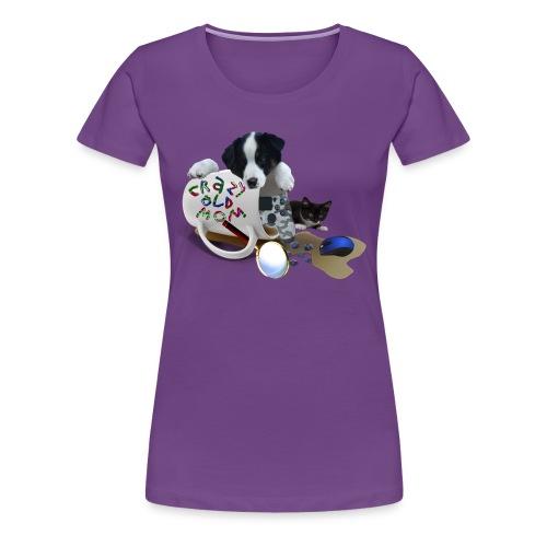 CrazyOldMom Twitch Logo - Women's Premium T-Shirt