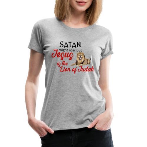 Lion of Judah - Women's Premium T-Shirt
