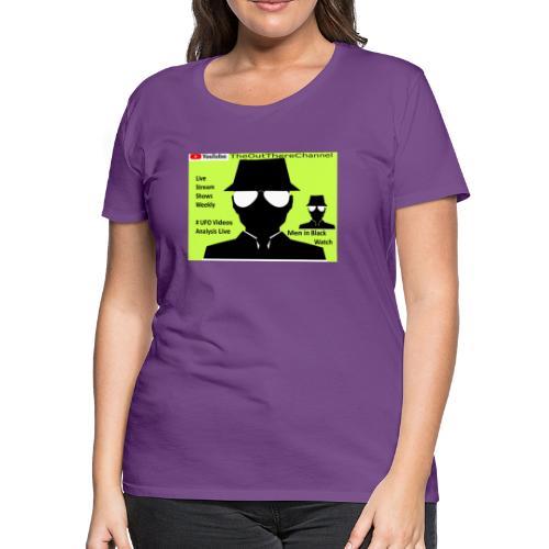 Mib 2 Men with Back Crew Logo - Women's Premium T-Shirt