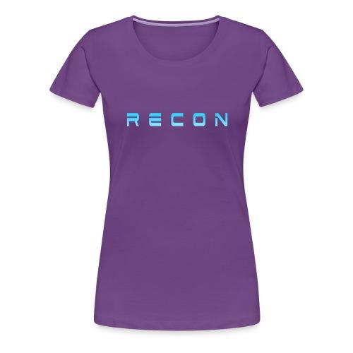 Rec0n Text - Women's Premium T-Shirt