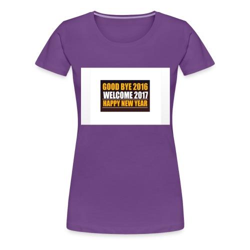 2017 - Women's Premium T-Shirt