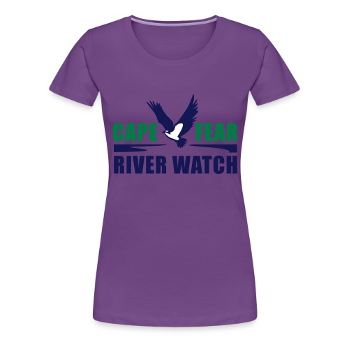 Cape Fear River Watch Logo - Women's Premium T-Shirt