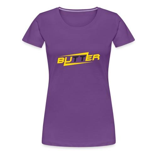 Butter Face Youtube Logo - Women's Premium T-Shirt