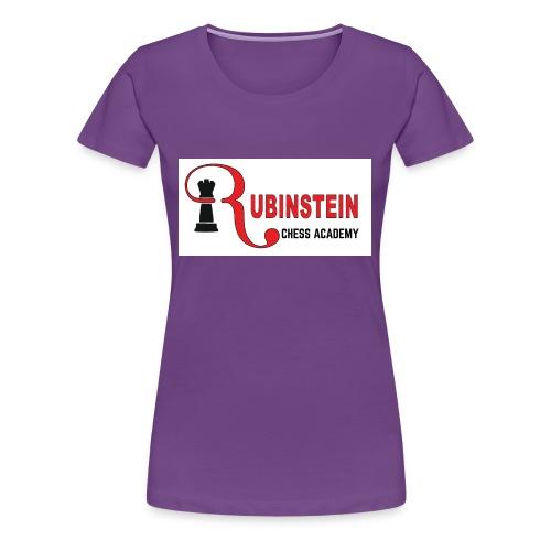 Rubinstein Chess Academy Logo - Women's Premium T-Shirt