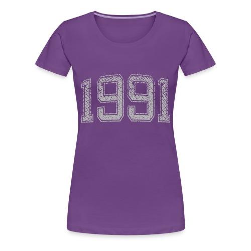 1991 Year Vintage - Women's Premium T-Shirt
