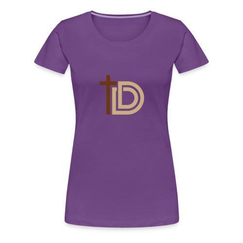 Discerning Dad Logo Only - Women's Premium T-Shirt