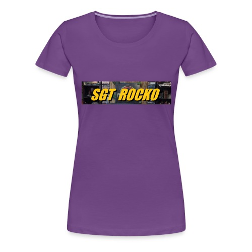 RockoWear Banner - Women's Premium T-Shirt