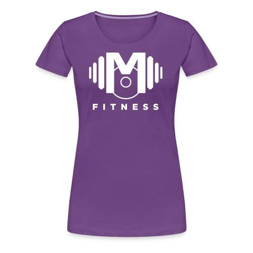 Mo Fitness - White - Women's Premium T-Shirt
