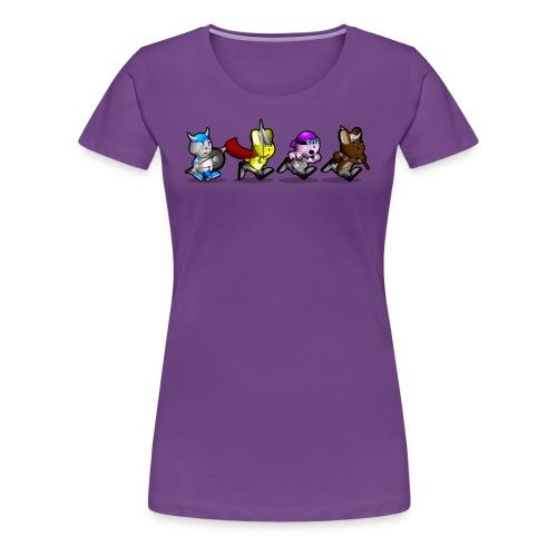 Running Bunnies - Women's Premium T-Shirt