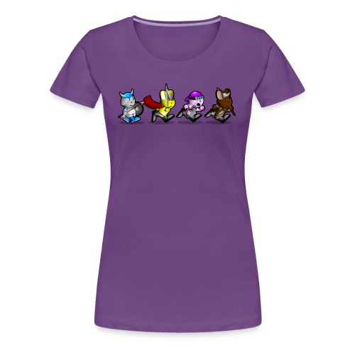 Running Bunnies - Women's Premium T-Shirt