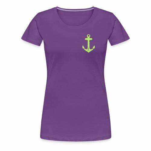 Test Vector Anchor - Women's Premium T-Shirt