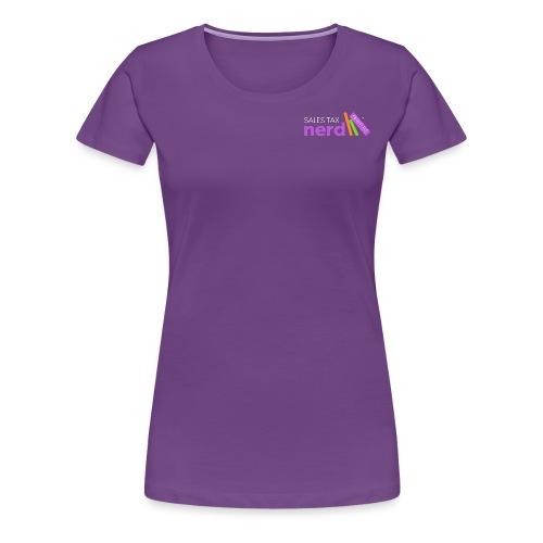 Sales Tax Nerd - Women's Premium T-Shirt