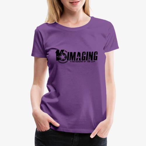 16IMAGING Horizontal Black - Women's Premium T-Shirt