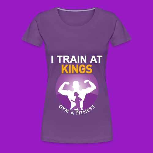kings gym - Women's Premium T-Shirt
