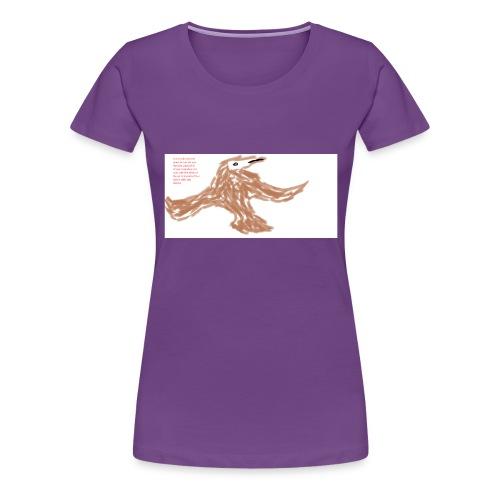 Soaring thru Prayer - Women's Premium T-Shirt