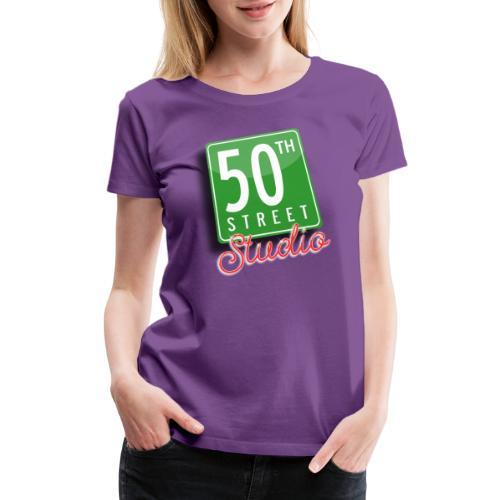 50th Street Studio LOGO - Women's Premium T-Shirt