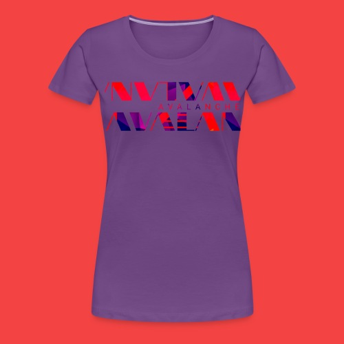 Avalanche vector - Women's Premium T-Shirt