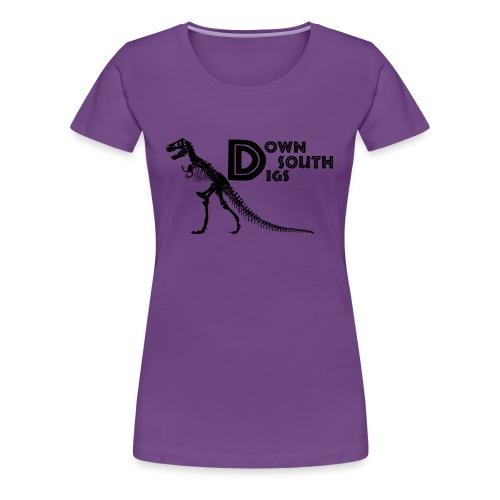 T-Rex Logo - Women's Premium T-Shirt