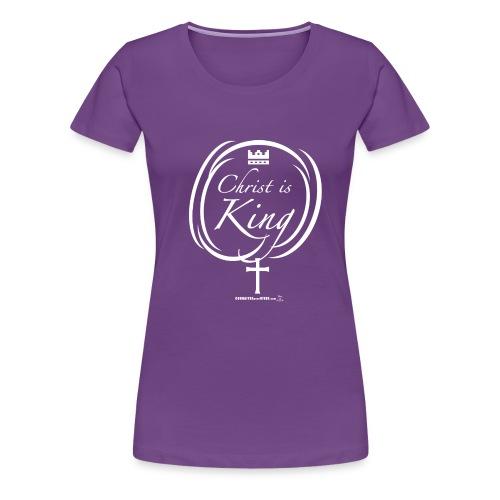 Chris is King - T-shirt premium pour femmes