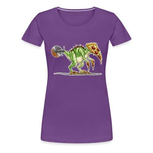 pizzasaurus - Women's Premium T-Shirt