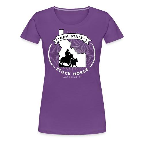 Sunburst Logo - Women's Premium T-Shirt