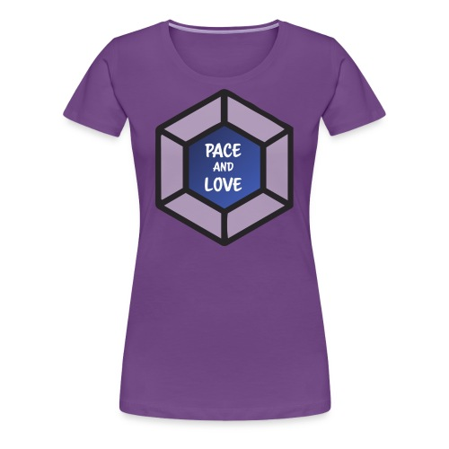 Pace and love - Women's Premium T-Shirt