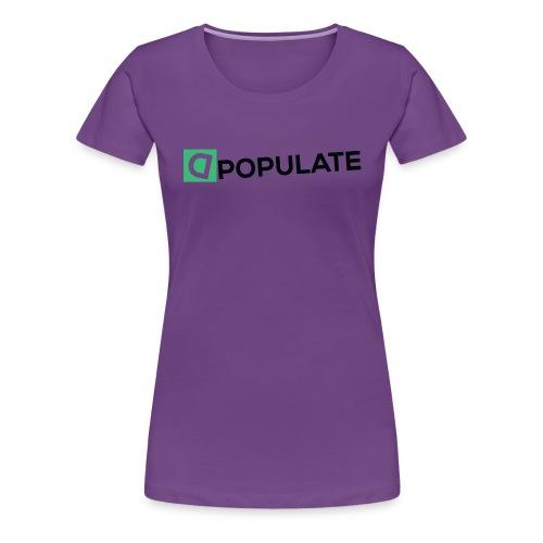 DpopuLate Shirt 2 - Women's Premium T-Shirt