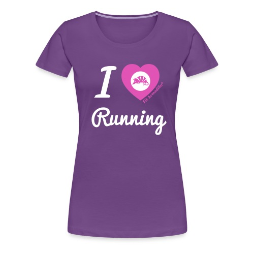 I love running - Women's Premium T-Shirt
