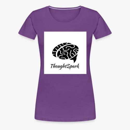 Newest, Simplest ThoughtSpark Logo - Women's Premium T-Shirt