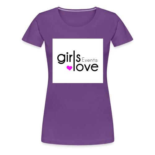 logo_girlslove (Events) - Women's Premium T-Shirt
