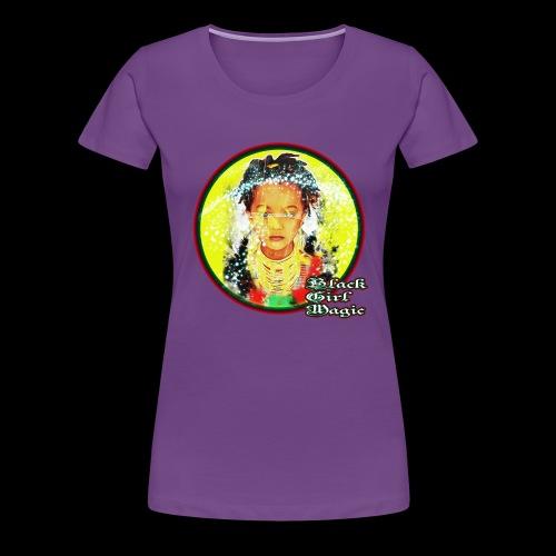 Black Girl Magic - Women's Premium T-Shirt