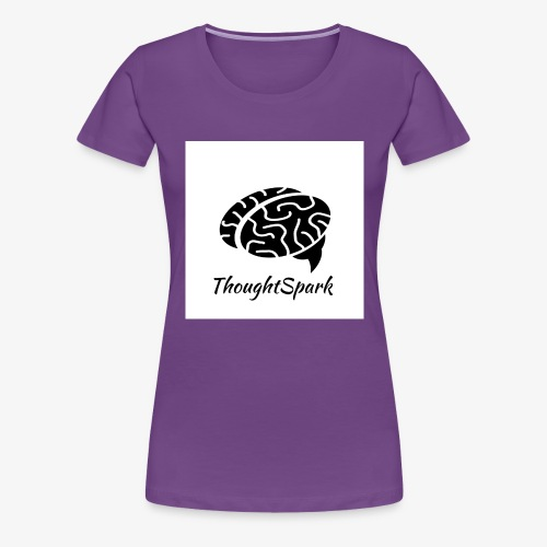 Newest, Simplest ThoughtSpark Logo - Women's Premium T-Shirt