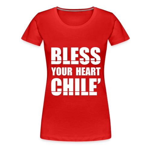 01 Candy Bless White png - Women's Premium T-Shirt