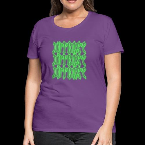 outcast x3 green - Women's Premium T-Shirt