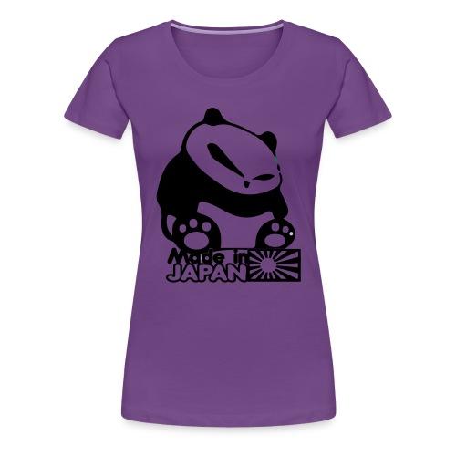 Made In Japan Panda - Women's Premium T-Shirt