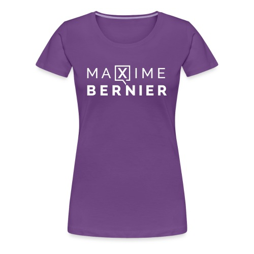 Maxime Bernier campaign logo - Women's Premium T-Shirt