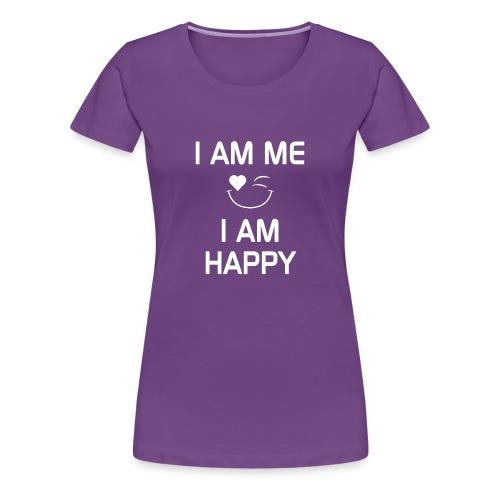 IAmMeIAmHappy - Women's Premium T-Shirt