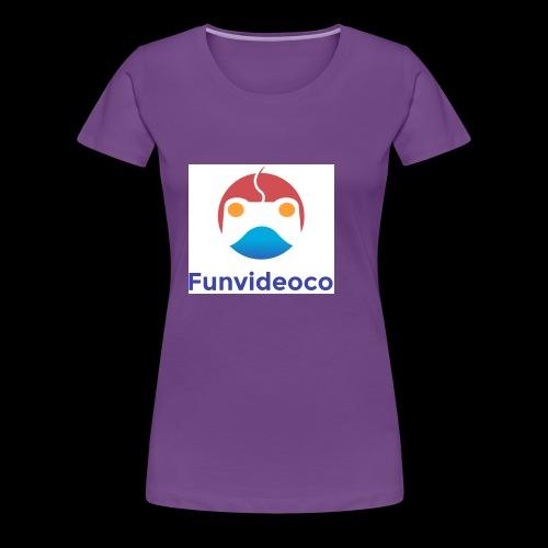 Fun Video Co logo - Women's Premium T-Shirt