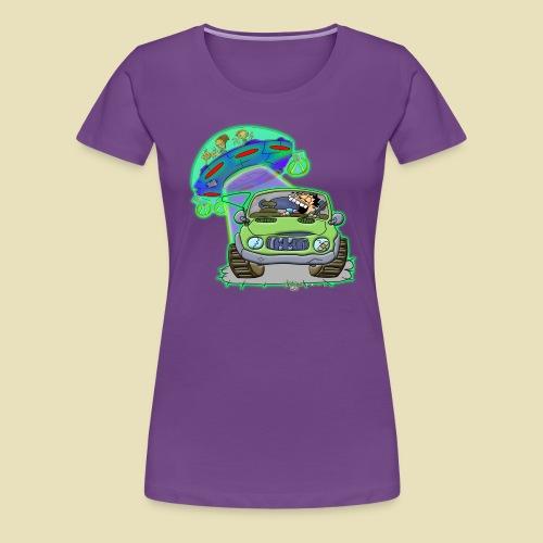 GrisDismation Ongher's UFO Alien Abduction - Women's Premium T-Shirt
