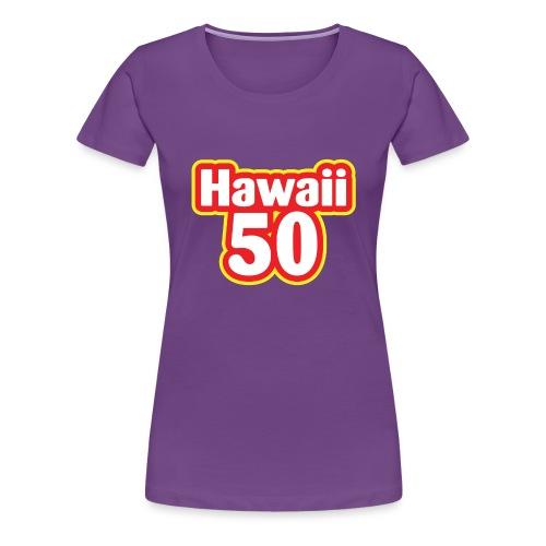 Hawaii 50 - Women's Premium T-Shirt