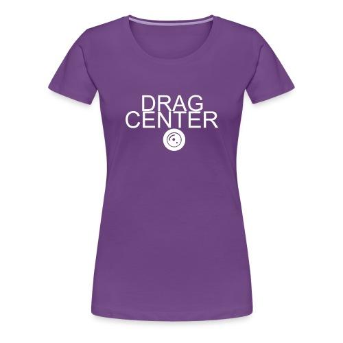 DragCenter white logo - Women's Premium T-Shirt